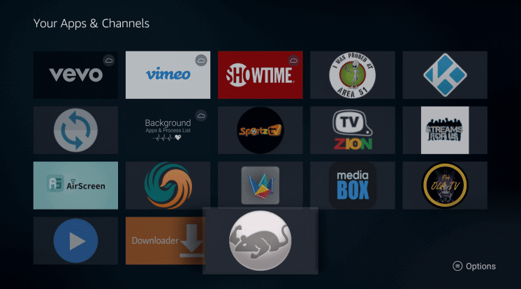Install CatMouse App on Firestick