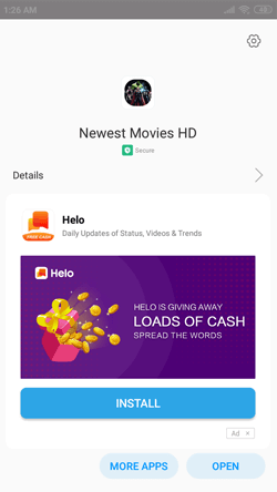 Install Newest Movies HD APK on Android Smartphones