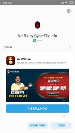 Install Netflix Mod App on Android Smartphones